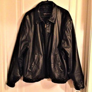 Men's Quality Wilsons Leather Bomber Jacket XL